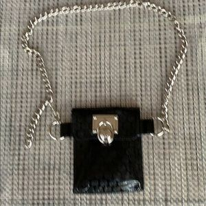 BN Michael Kors chain belt with wallet